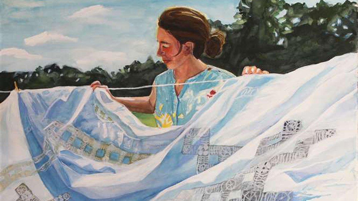 Laundry Day by Amellia Hausmann