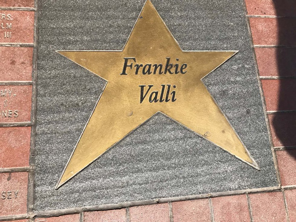 Frankie Valli star in front of the Orpheum in Memphis. (Source: WMC Action News 5)