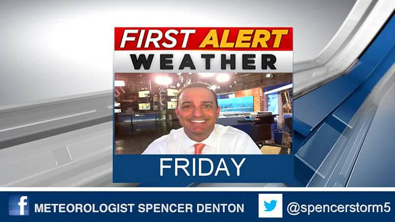 Spencer's Friday Forecast