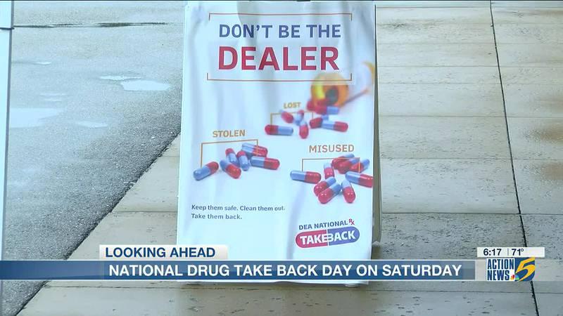 National Prescription Drug Take Back Day helps fight addiction