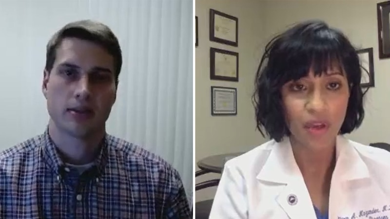 Dr. John Eick and Dr. Shirin Mazumder, with Methodist Le Bonheur Healthcare, discussed the...