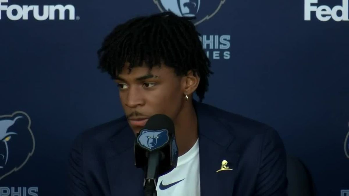 Ja Morant introduced as the newest team member of the Memphis Grizzlies. (Source: KFVS)