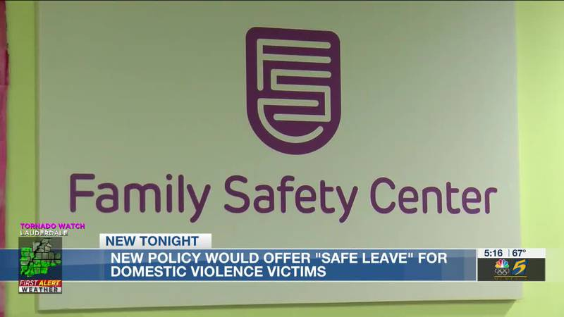 """New policy would offer """"safe leave"""" for domestic violence victims"""