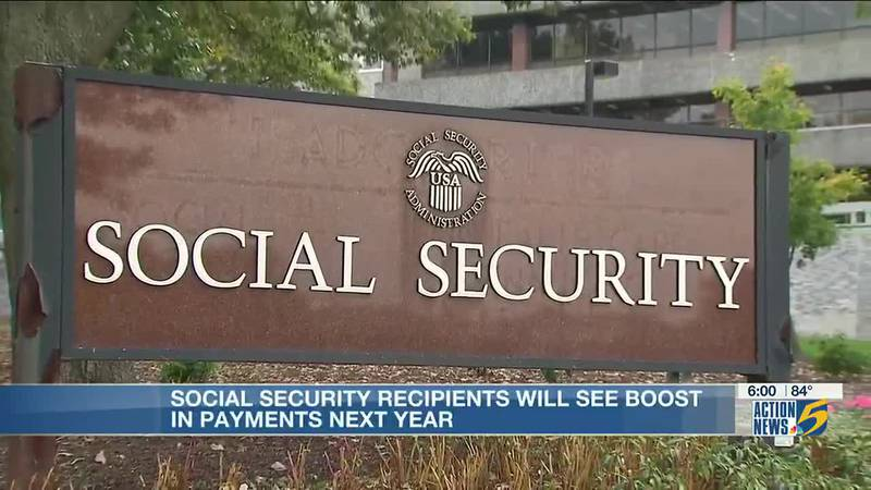Social security recipients will see boost in payments next year