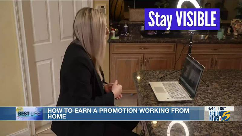 Best Life: How to earn a promotion working from home