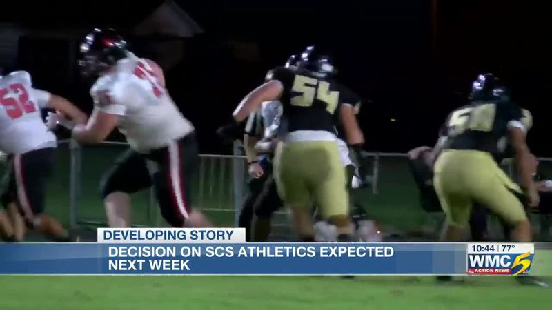 SCS officials say decision on fall sports expected by early next week