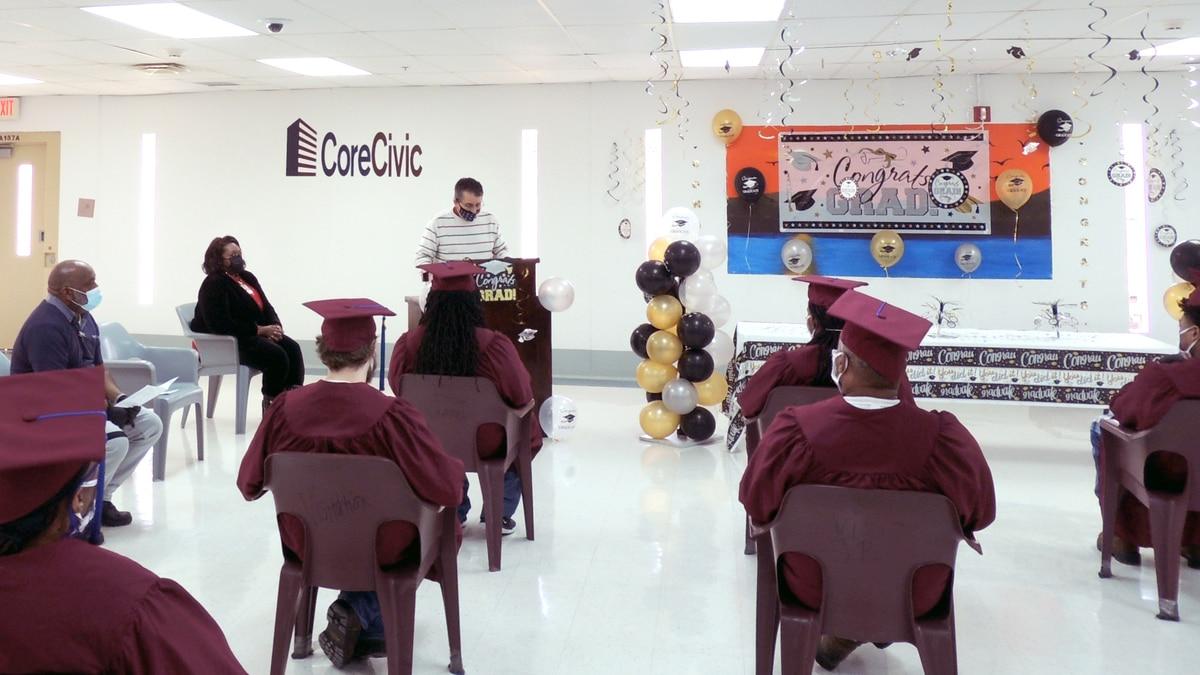 CoreCivic inmates graduate