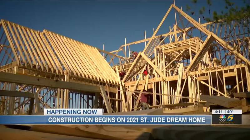 Construction begins on 2021 St. Jude Dream Home