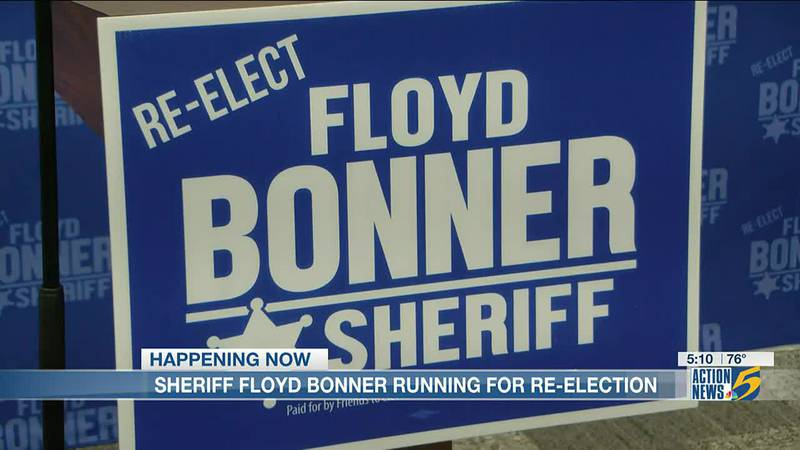 Shelby County Sheriff Floyd Bonner annouces re-election bid