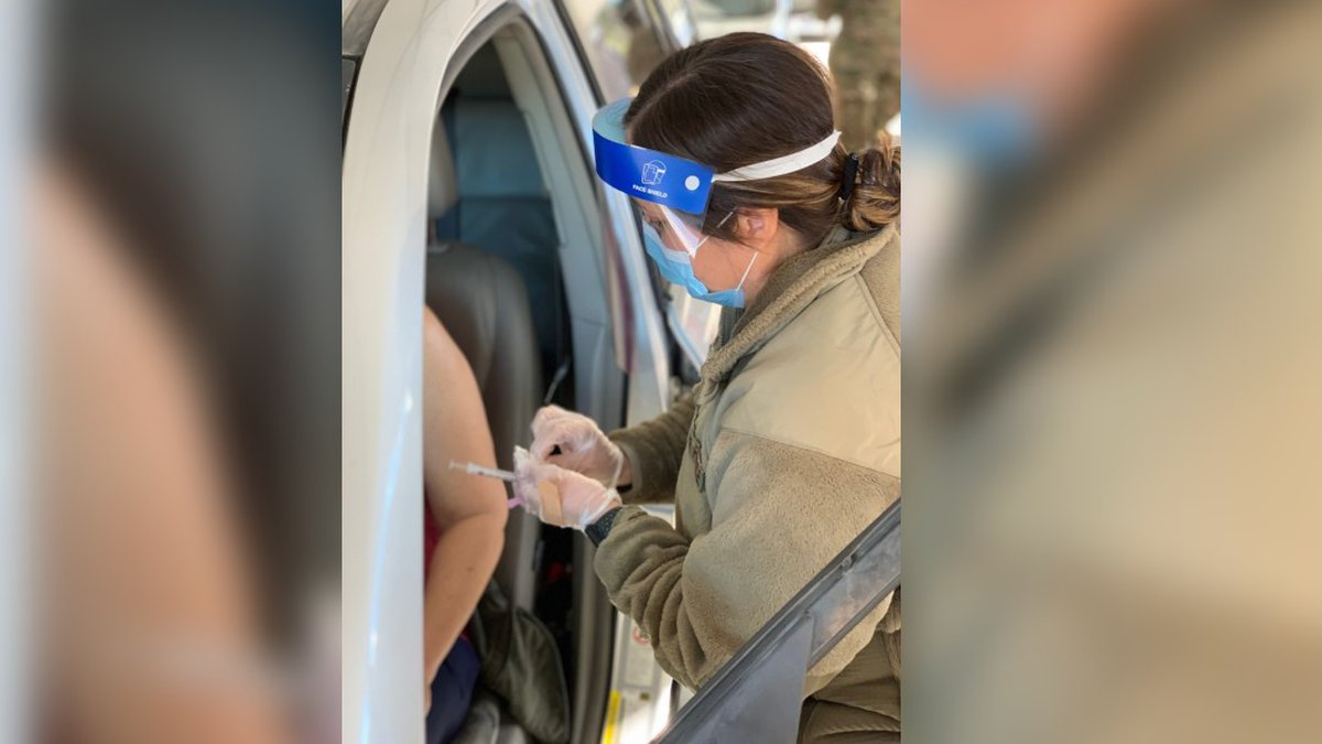 The state's 19th drive-thru site opened Thursday at Smith-Wills Stadium in Jackson and open...
