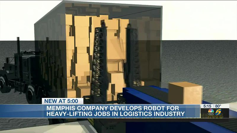 Memphis company develops robot for heavy-lifting jobs in logistics industry