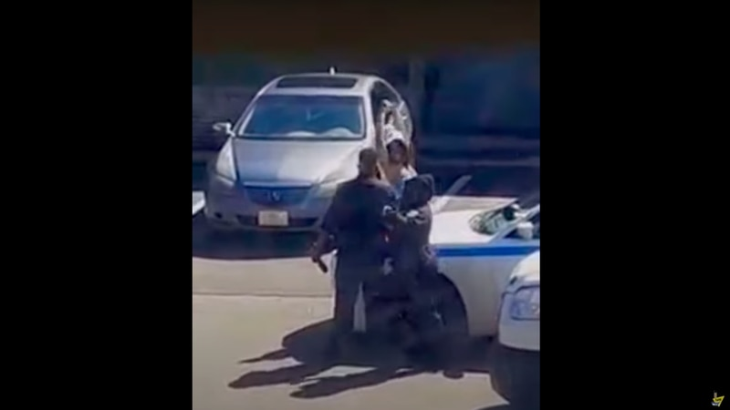 A woman filmed twerking on a JPD cruiser will not face charges.