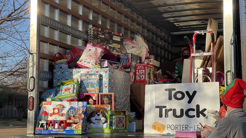 Porter-Leath Toy Truck Drive