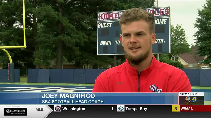 Joey Magnifico looks to turn around SBA Football as he takes over the helm