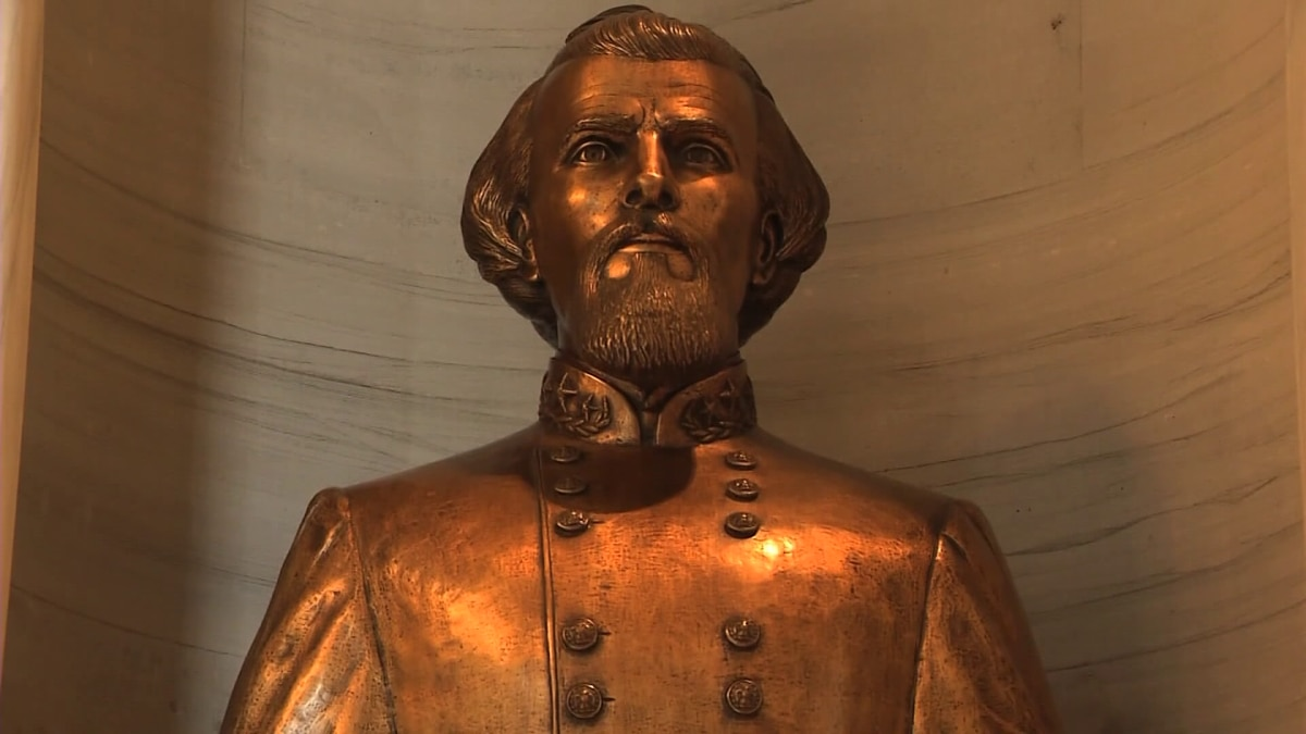 Debate over possible removal of Nathan Bedford Forrest bust continues