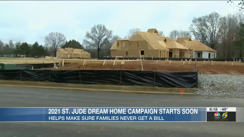 Construction has officially started on St. Jude's Dream Home for 2021
