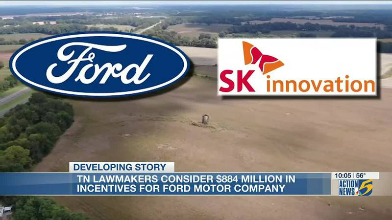 Tennessee lawmakers break down nearly $900M in incentives for Mid-South Ford Motor Co.