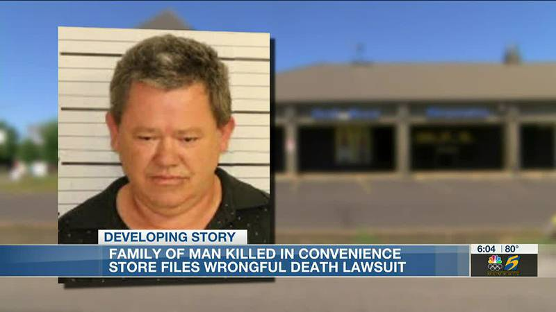 Family of man killed in convenience store files wrongful death lawsuit