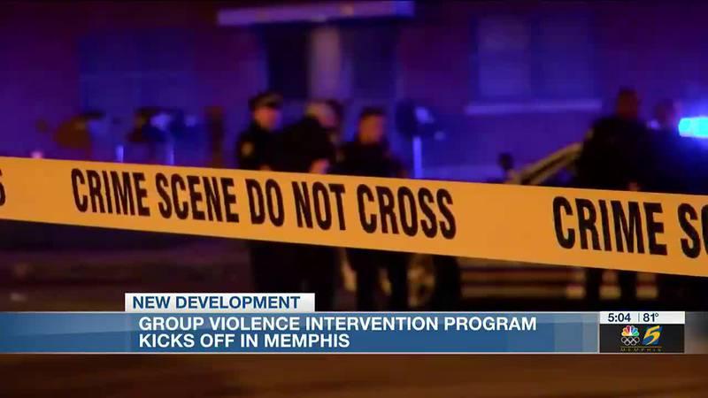 Group violence intervention program kicks off in Memphis