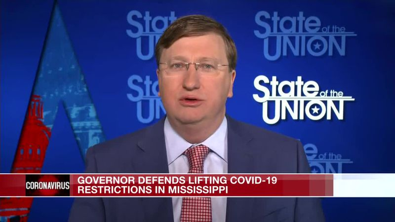 Reeves on CNN, defends lifting COVID-19 restrictions in Miss.
