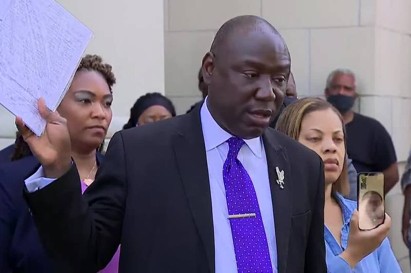 """""""It was a kill shot to the back of the head,"""" family attorney Ben Crump said."""