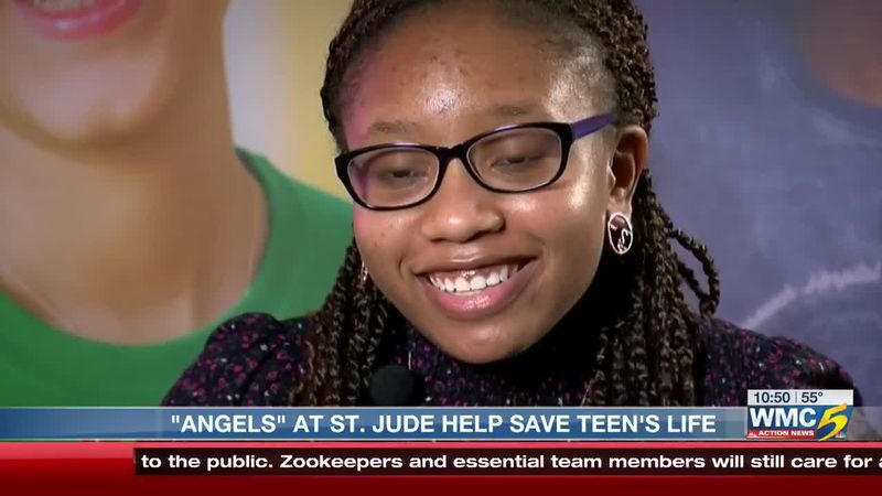 Mother says St. Jude 'angels' saved her daughter's life