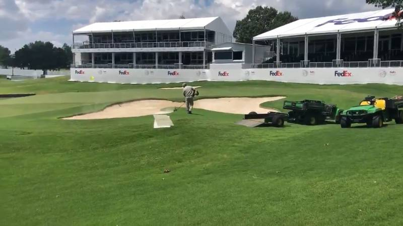 TPC Southwind is a flurry with preparations for Memphis' first World Golf Championship....