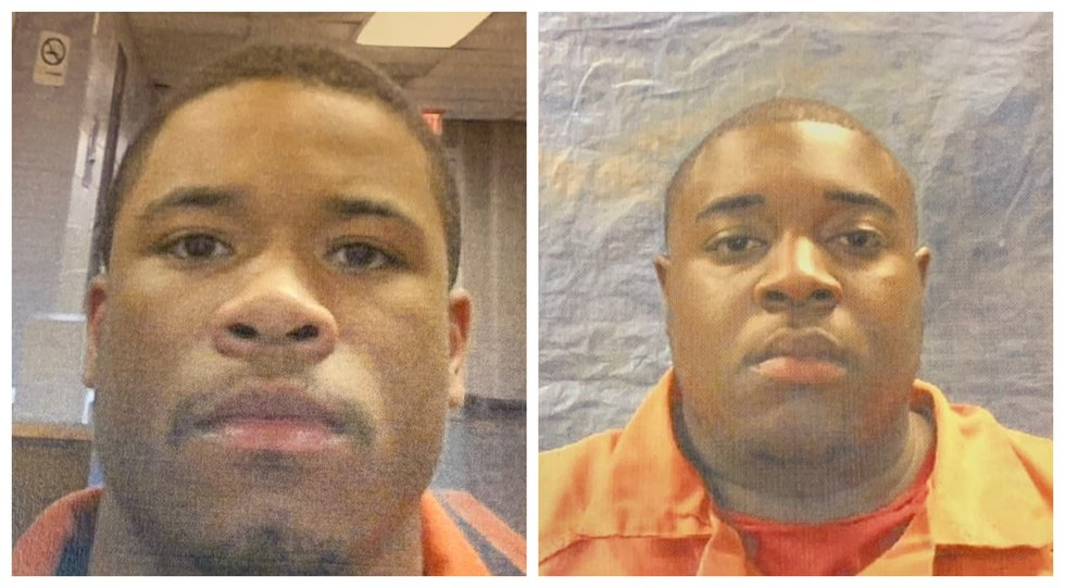 Two arrested for accessory after the fact of murder.