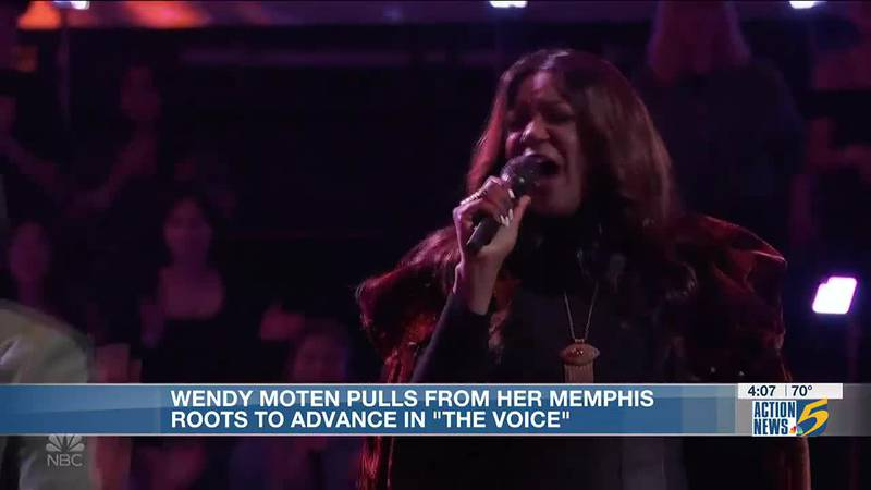 Wendy Moten pulls from her Memphis roots to advance in 'The Voice'