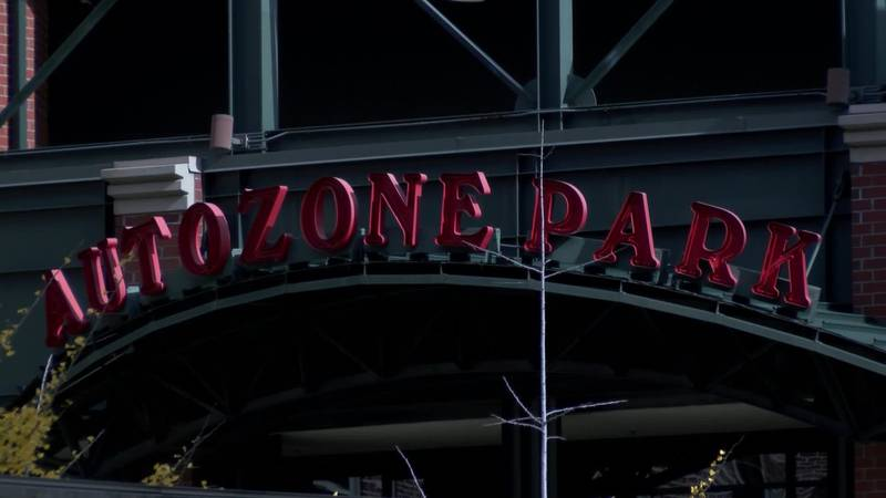 The St. Louis Cardinals would buy the Redbirds, while the City of Memphis would buy AutoZone...