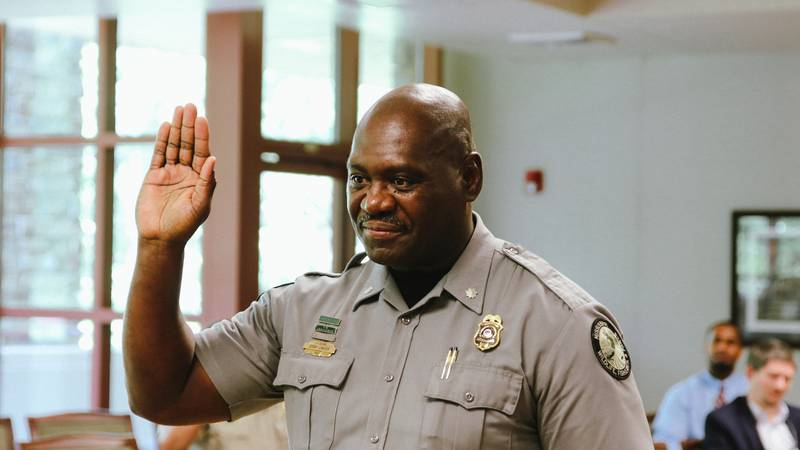 Carter was recently sworn in as chief of the Law Enforcement Bureau for the Mississippi...