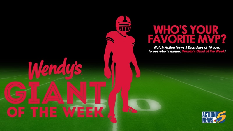 Wendy's Giant of the Week