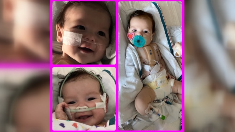 Fundraiser supports officer's 4-month-old daughter with heart defect (Joanna Young)