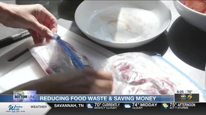 Bottom Line: Reducing food waste and saving money