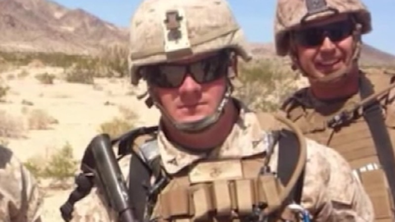 Family pleads for stolen items of fallen marine to be returned