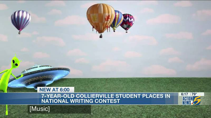 7-year-old Collierville student wins national writing contest with toy company Schleich