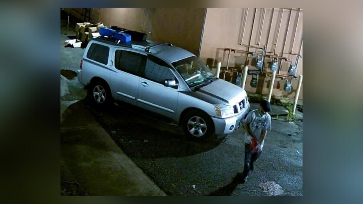 Man breaks into storage space unit and steals several items.