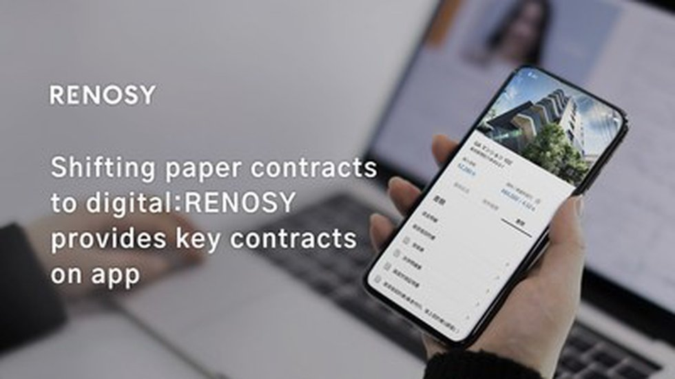 Shifting paper contracts to digital: GA technologies iBuyer business RENOSY provides key...