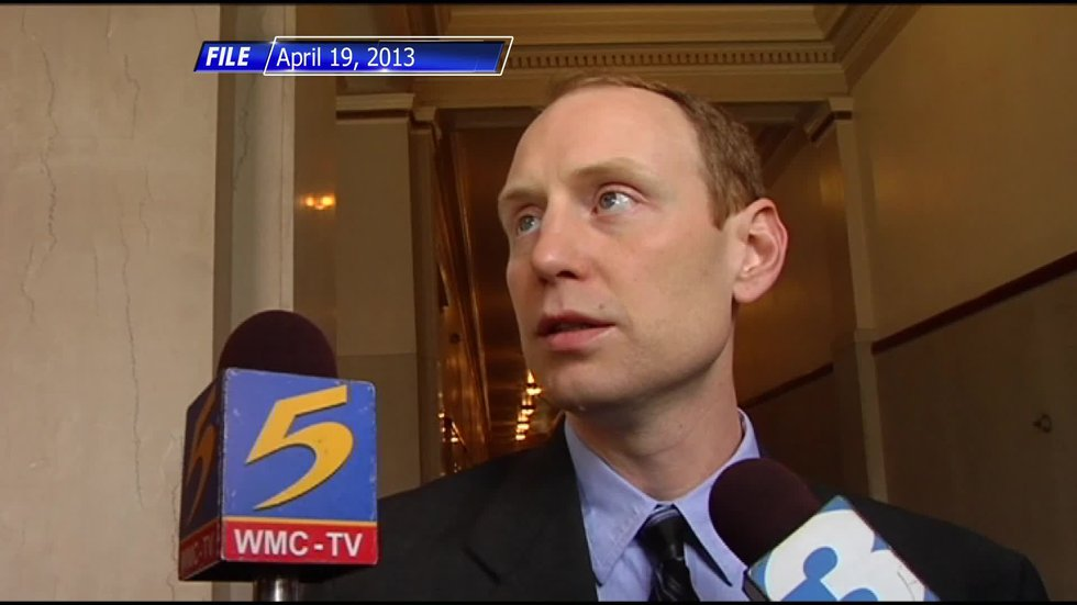 Chris Jones told WMC Action News 5 he didn't do it, but police and prosecutors beg to differ.