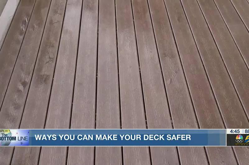 Bottom Line: Deck safety
