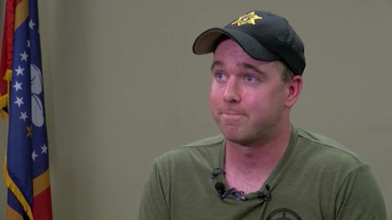 DeSoto County deputy shared inspirational recovery story