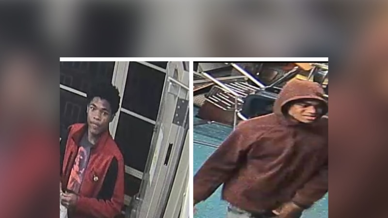 Two suspects wanted for burglary at Memphis high school