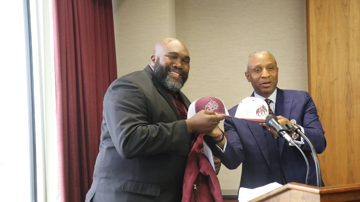 Travis Macon is the new football coach at Coahoma Community College.