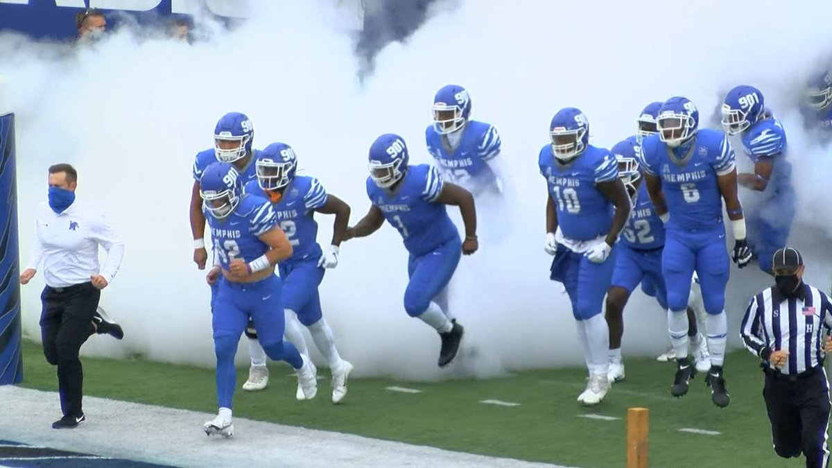 Memphis Tigers football takes the field