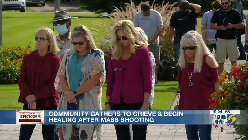 Collierville community begins healing process after deadly mass shooting
