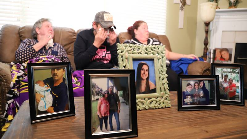A family is left in pieces after a gunman shot and killed a father and two children. (Source:...