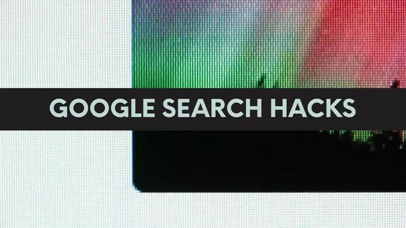 Google Search Hacks