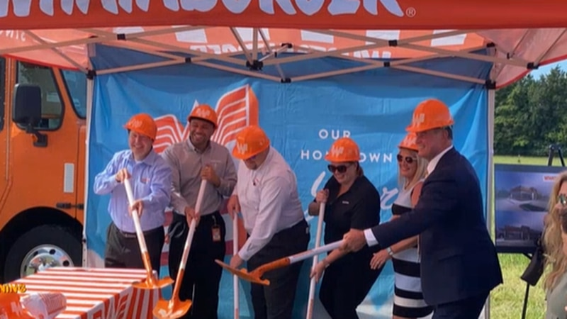 Whataburger breaks ground in Southaven