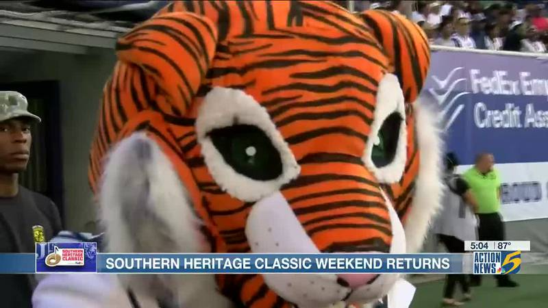Southern Heritage Classic organizers encourage wearing masks during weekend events