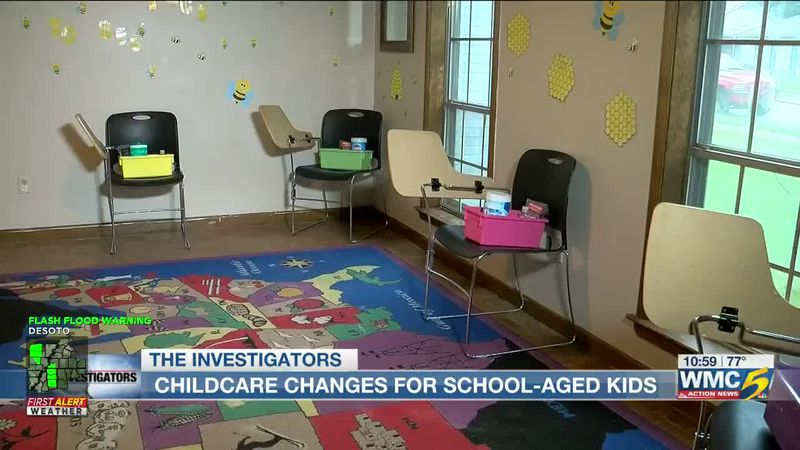 Working parents choose between child care or leaving children unattended as students learn...